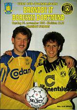 UEFA - EC III 93/94 Bröndby IF Kopenhagen - Borussia Dortmund, 24.11.1993