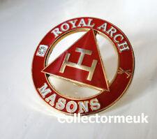 ZP447 Royal Arch Masons Freemason Masonic Triple Tau Enamel pin badge