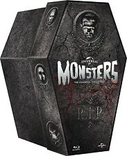 Universal Classic Monsters Essential Coffin Collection Region Free BluRay Set