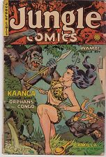 Jungle Comics #146 GD 2.0 1952 Glen-Kel Pub See my store