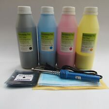 4PK Toner Cartridge Refill Kit for HP 126A CE310A Color LaserJet CP1025nw