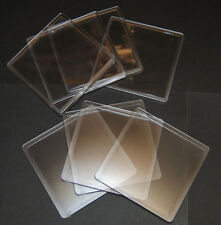 100 Blank Clear Square Plastic Coasters 90x90mm Insert Size N1 Acrylic Coaster