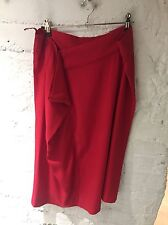 Maison Martin Margiela Red Asymmetric Skirt Size 40