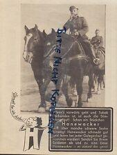 NORDHAUSEN, Werbung 1938, G. A. Hanewacker Kau-Tabak-Fabrik