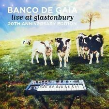 BANCO DE GAIA - LIVE AT GLANSTONBURY  2 CD NEU