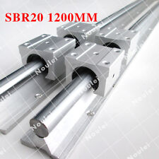 1200mm SBR20 linear guide rail with SBR20UU slide block for CNC parts Custo