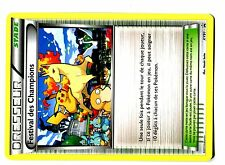 POKEMON WORLDS PROMO 2015 XY91 FESTIVAL DES CHAMPIONS FRANCAISE PIKACHU GALOPA