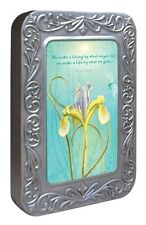 We Make a Living By 12 Blank Note Cards in Keepsake Tin Box by Tree Free
