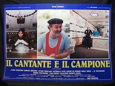FOTOBUSTA CINEMA - IL CANTANTE E IL CAMPIONE - M. DAIMON - 1984 - MUSICALE - 01