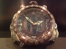 Invicta 12589 Venom Reserve Intrinsic Analog / Digital Display Mens Watch RARE