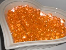 Water Absorbing Beads (Orange Marmalade)  Create Custom Centerpiece Vase Fillers