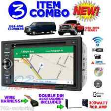 98-08 FORD MERCURY BLUETOOTH NAVIGATION CAR RADIO STEREO DOUBLE DIN INSTALLATION