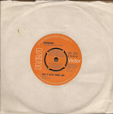 """Moonshine Just A Little More Line UK 45 7"""" single +I Am The Tail"""