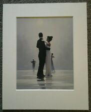 "JACK VETTRIANO ""DANCE ME TO THE END OF LOVE""MOUNTED ART PRINT SPECIAL OFFER"
