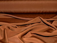 """PEACH SKIN FAILLE FABRIC TAN DRAPABLE DRESSES SUITS PANTS BLOUSES  60"""" BTY"""
