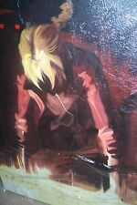 Full Metal Alchemist 40x28inches Oil Painting NOT a print  poster.Framing avail.