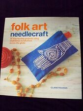 Folk Art Needlecraft Traditional Motifs from Around the Globe -Youngs- (2013-SC)