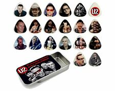 U2 Guitar Pick Quality Gift Tin - Set of 20