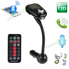 Bluetooth LCD MP3 Player FM Transmitter Transmisores USB SD AUX Handsfree USB/SD