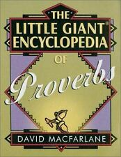 The Little Giant Encyclopedia of Proverbs