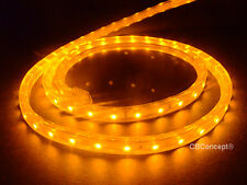 CBConcept®UL Listed,30 Feet,3200 Lumen,Yellow,120 Volt Flat LED Strip Rope Light