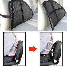 Relax Car Seat Office Chair Waist Massage Back Mesh Lumbar Support Cushion Pad