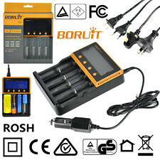 BORUIT C4 Intelli Smart Battery Charger For Ni-MH/CD/Li-ion AA 18650 26650 16340