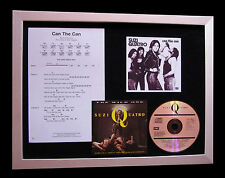 SUZI QUATRO Can The Can CD TOP QUALITY MUSIC FRAMED DISPLAY+EXPRESS GLOBAL SHIP