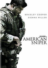 American Sniper (dvd) (dvd in a blue ray slipcase) free shipping