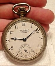 Antique Ingersoll Yankee Pocket Watch Made In USA For Parts Repair 4U2FIX L@@K