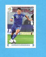 PANINI-EURO 2012-Figurina n.105- KARAGOUNIS - GRECIA -NEW-WHITE BOARD