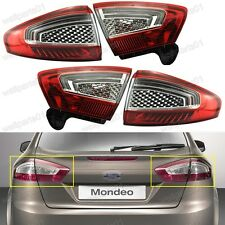 OEM Replacement Rear Lights Tail Lamps Full Set For Ford Mondeo 2011-2012
