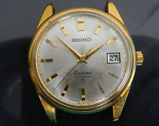 100% Authentic SEIKO Sportsman Hand Winding Men's Wrist Watch 17Jewels 6602-9981