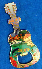 HURGHADA EGYPT CORAL REEF WHALE DOLPHIN FISH BOTTLE OPENER GUITAR Hard Rock Cafe