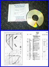 Tiger Moth DH82A - Schedule of Spare Parts Illustrated