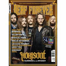 DEAF FOREVER #16 (NEW*METAL MAG*HORISONT*KREATOR*POSTER MIDNIGHT*T.LIZZY)