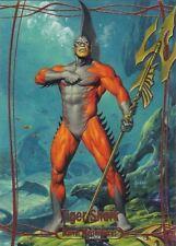 2016 Marvel Masterpieces - ORANGE Foil #02 Tiger Shark #11/99 NM/M VHTF
