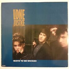 "Lone Justice Ways To Be Wiked Maxisingle 12"" UK 1985                Maria McKee"