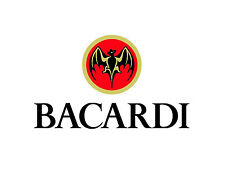 "Bacardi Vinyl Sticker Decal 14"" (full color)"