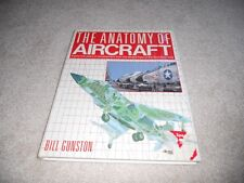 Anatomy of Aircraft Book Vintage Hardcover w/Dustjacket  Bill Gunston