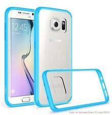 Exact Prism Slim-Fit Transparent Bumper Case for Samsung Galaxy S7 Edge Sky Blue