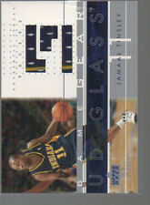 JAMAAL TINSLEY 2002-03 UD GLASS GAME GEAR JERSEY CARD #JT-GG