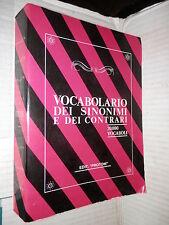 VOCABOLARIO DEI SINONIMI E DEI CONTRARI Edit Protom 1991 libro linguistica di