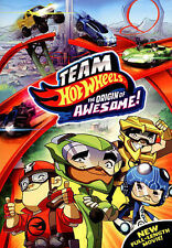 Team Hot Wheels: The Origin of Awesome! (DVD, 2014)