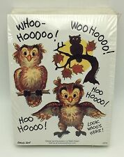 Suzys Zoo Stickers 250 Sheets Owls Halloween Moon