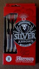 Harrows Silver Arrows 18g Soft Tip Darts Set 54507 Arrow Dart with FREE Shipping