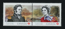 Canada 2651a MNH War of 1812, Laura Secord, Charles de Salaberry