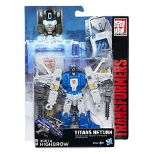 TRANSFORMERS GENERATIONS TITANS RETURN XORT AND & HIGHBROW DELUXE CLASS NEW