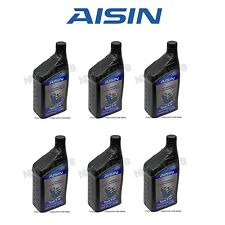 Audi Q7 Volkswagen Jetta Set of 6 Automatic Transmission Fluid AISIN G055025A2