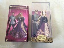 New Disney Store Aurora Briar Rose & Prince Philip Doll Set Limited Edition